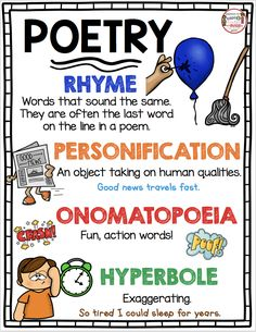 FUN AND FREE POETRY UNIT FOR KINDERGARTEN