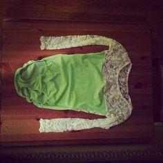 Lucious Lace Long Sleeve Leotard. $40.00, via Etsy.