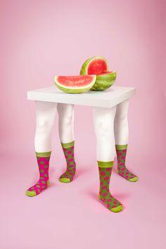 Odd Pears, Pink by Leta Sobierajski | http://www.yellowtrace.com.au/australian-design-news-may-2014/