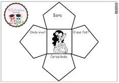 SOSPROFESSOR-ATIVIDADES: Nosso folclore - personagens Bullying, Professor, Education, Prado, Valencia, 1, Reading Room, History Activities, Interactive Activities