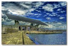 Cel.lula fotovoltàica a la Zona de Banys del Parc del Forum (Barcelona) | Flickr: Intercambio de fotos