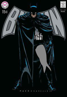 New blog post. David Mazzucchelli's Batman Year One as the cover to Batman 220. DC Comics. Colour and re-created logos by Scott Dutton.  http://www.catspawdynamics.com/batman-year-one/