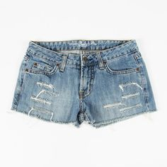 $49 LUX urban outfitters vtg grunge DESTROYED SHREDDED CUTOFF jean shorts 26 S $9.99