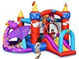 HAPPY HOP-HAPPY HOP Aire de jeux gonflable Château du Dragon
