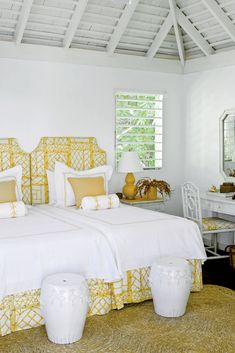ce34410213f6 40 Charming Guest Bedrooms. Tropical Home DecorTropical HousesCoastal ...