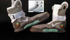 21cfe12ae31f Nike Air Mag en crochet pour bébé