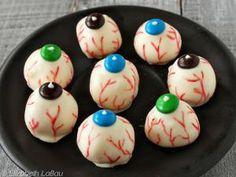 Peanut Butter Eyeballs - (c) 2014 Elizabeth LaBau
