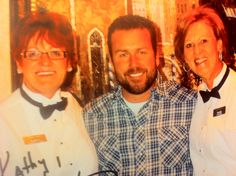 Sandy and me with Rodney Carrington. What a naughty boy!!!