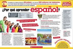 Ideas and Resources for Teaching Spanish and MFL from a Spanish Teacher using Mary Glasgow Magazines in her Classroom. Study Spanish, Spanish Lesson Plans, Ap Spanish, Spanish Lessons, How To Speak Spanish, Learn Spanish, French Lessons, Learn French, Spanish Teaching Resources