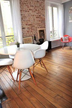 Association des couleurs brique & design
