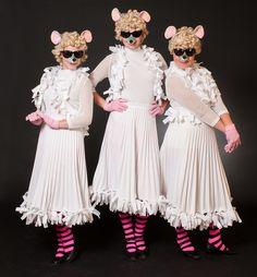Shrek the Musical Costumes: Three Blind Mice