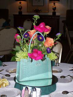 A beautiful floral centerpiece