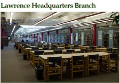 Take a look inside our Lawrence Headquarters Branch