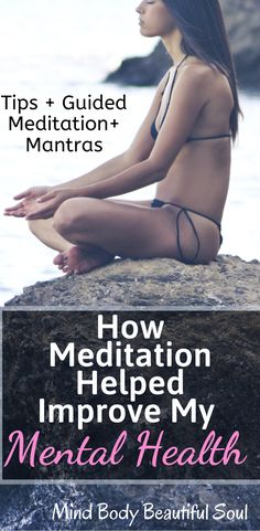 How Meditation Helped Improve My Mental Health. Meditation helped me take better control of my anxiety/depession by reinforcing positive thinking. Relaxation Meditation, Mindfulness Meditation, Guided Meditation, Mantra, How To Calm Anxiety, Mindfulness Exercises, Meditation For Beginners, Meditation Techniques, Depression Help