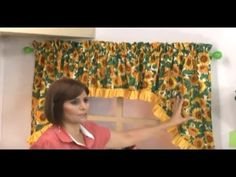 YouTube Sonia Franco, Farmhouse Window Treatments, Sewing Projects, Projects To Try, Sewing Aprons, Diy And Crafts, Upholstery, Sewing Patterns, Tapestry