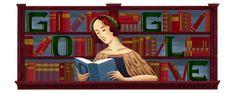 anniversary of the birth of Elena Cornaro Piscopia Google Doodle Today, Google Doodles, Logo Google, Agnes Scott, Google Banner, Republic Of Venice, Degree Holder, 1st Grade Worksheets, Birthday Dates