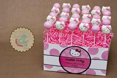 Hello Kitty Cake Pops... next year's birthday theme?