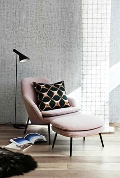 pink scandi style   The Little Design Corner   Norsu Interiors   Nordic style   Scandi ...