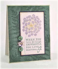 A Beautiful Life - Meadow Greens from Papertrey Ink