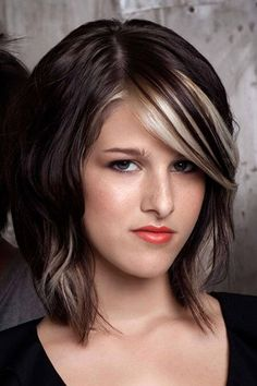Black hair with white highlights pictures the best black hair 2017 hairfashion with a long line cut and white highlights for black hair pmusecretfo Images