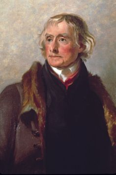 Thomas Jefferson American Founding Father who was principal author of the Declaration of Independence.And singed it.