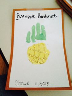 P is for pineapple
