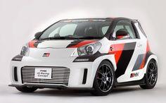 Toyota GRMN iQ debuting at Tokyo Auto Salon  Now I'd drive this....