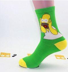 Simpsons Socks
