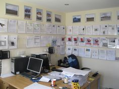 The main office at NGPS Ltd an award winning Poole based electrical and renewables installation company.
