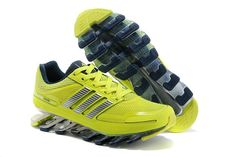 designer fashion 54b89 e76bd Adidas Springblade Drive Gul Sølv Dame Sko Adidas Outlet Store, Running  Shoes On Sale,