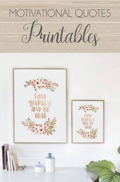 Motivational quotes ready to print only at Serendipity Paperie