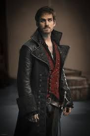 black leather trench captain hook - Google Search