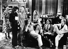 Stage Door (1937) with Katherine Hepburn, Ginger Rogers and Lucille Ball. A rare gem with a full cast of wonderful broads.