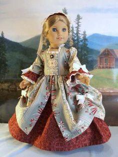 Williamsburg Sage Fits American Girl Elizabeth Felicity AND Other 18 IN Dolls | eBay