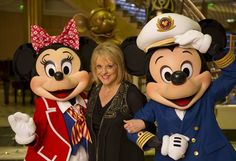 Disney Fantasy christening. Nancy Grace