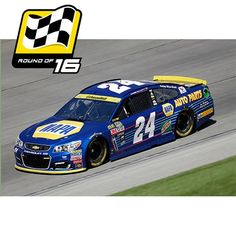 #24 Chase Elliott 2016 Chase for the Sprint Cup 1/64 NASCAR Diecast Car