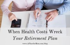 Financial expert Andy Smith shares how health costs can wreck your retirement plan. Learn how to include these costs in your long-term plan.