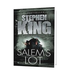 Salem's Lot: Before Stephenie Meyer's lovesick vampires sucked the menace out of the genre, there was Stephen King's contemporary classic about a small town in Maine and the terrifying vampires who haunt it. (Sorry, no Edward Cullen here.) Salem's Lot is an ominous story with relatable characters that will draw you in and keep you reading long after the sun has set.