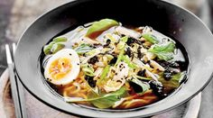 Chicken and yuzu ramen recipe from The Bone Broth Bible