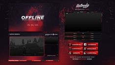 FREE TWITCH OVERLAY TEMPLATE 2018 #2 on Behance Twitch Streaming Setup, Samurai Artwork, Display Banners, Social Media Branding, Jobs Apps, Design Reference, Book Design, Game Design, Banner Design