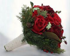 rustic winter wedding | Rustic Winter Wedding Bouquet by BizouBizou on ... | All my heart...f ...