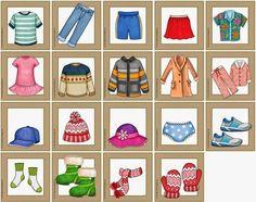 Ideenreise: Neues Materialpaket für DAZ: Kleidungsstücke