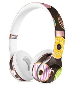 Yummy Colored Donuts v2 Full-Body Skin Kit for the Beats by Dre Solo 3 Wireless Headphones
