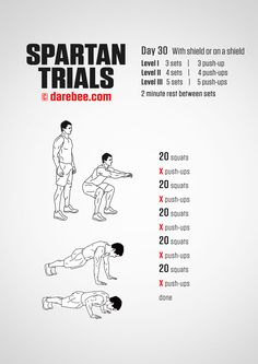 Spartan Trials: 30-Day Fitness Program