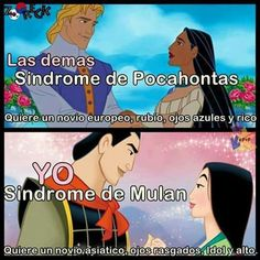 Yo tengo que confesar algo que oculte por mucho tiempo, talvez ya se dieron cuenta por como escribo pero tengo el síndrome de Mulan :v  y me encanta (/o