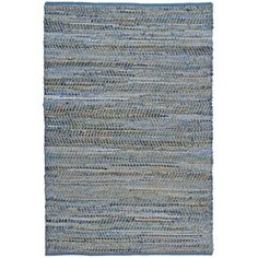 Blue Jeans Hand-woven Denim & Hemp Area Rug (9' x 12')   Overstock.com Shopping - Great Deals on 7x9 - 10x14 Rugs