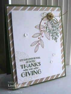 Stampin' Seasons: Stamp Review Crew: Lighthearted Leaves