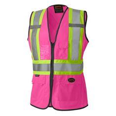 safety pink ladies reflector , .....