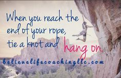 keep going.  you are not alone. believelifecoachingllc.com