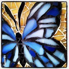 KupavArt's Mosaic, butterflies